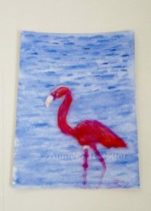 Flamingo w