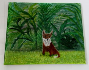 Jungle Garden Fox w
