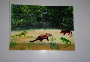 Iguana Gathering w