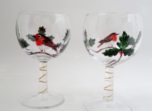 Holly Robin glasses