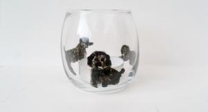 Poodle tealight holder 2