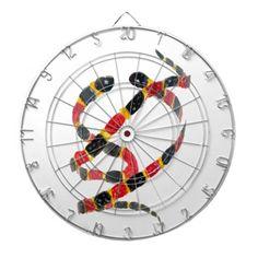Snake dart board