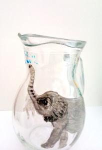 elephant jug in progress