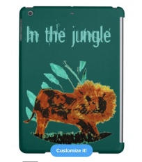 Lion Ipad cover