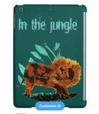 Lion Ipad cover