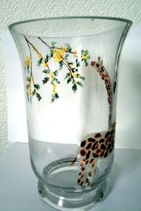 giraffe tree vase
