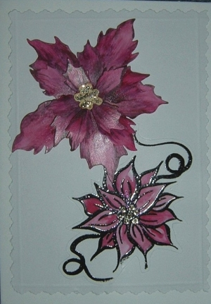 poinsetta-card