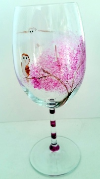 barn-owl-pink-blossom-glass