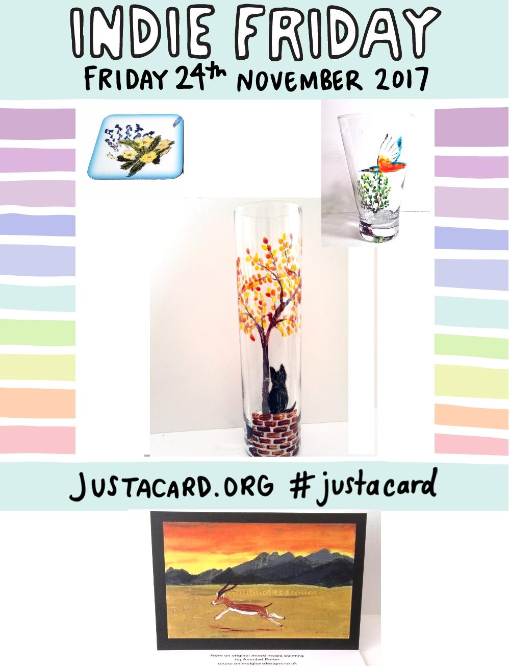 IndiefridayJustacard