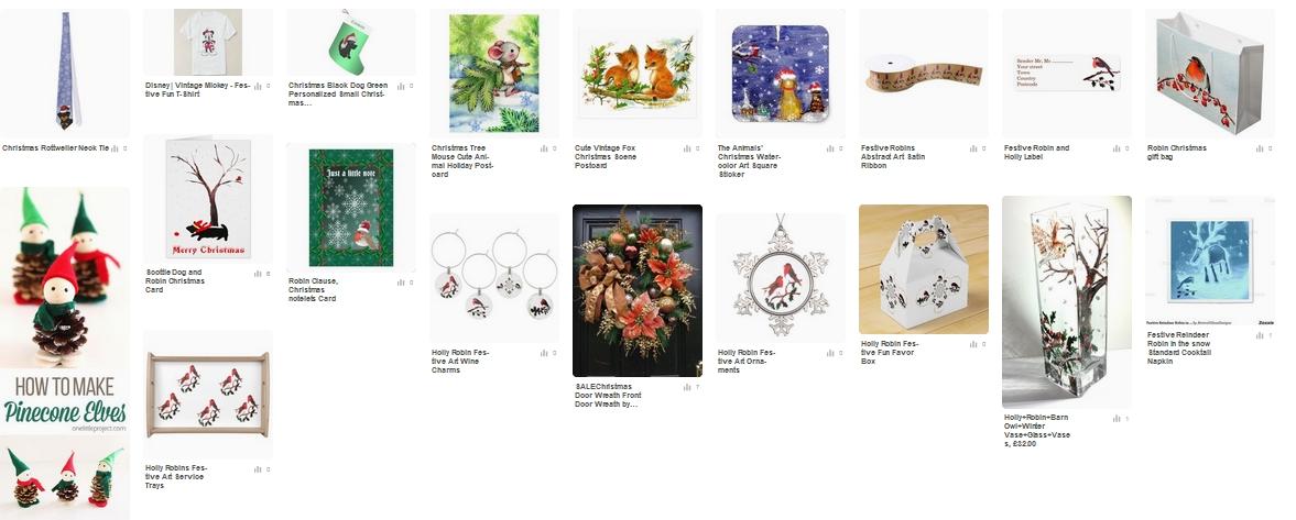 Pinterest xmas selection